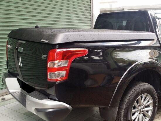 Aeroklas Speed hard cover - black, grain surface - Mitsubishi/Fiat D/C 2015-