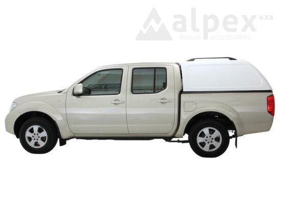 Aeroklas Commercial hardtop - NAF black pepper - Nissan D/C 05-15