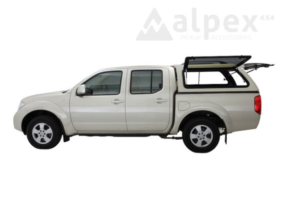 Aeroklas Stylish hardtop - pop-up side window - KL0 silver - Nissan D/C 2005-2015