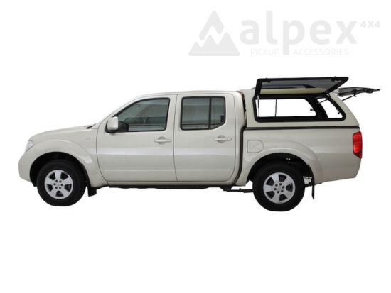 Aeroklas Stylish Hardtop - seitliche Aufklappfenster - KL0 silber - Nissan D/C 2005-2015