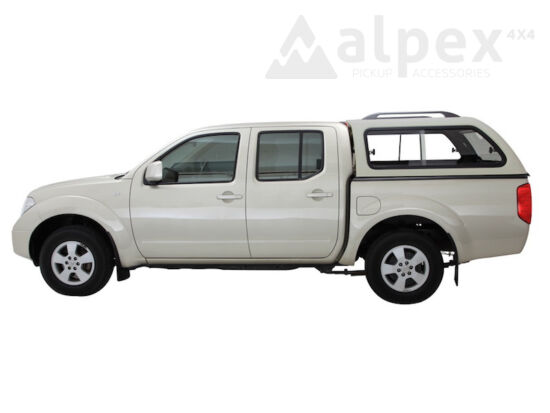 Aeroklas Stylish Hardtop - seitliche Schiebefenster - K51 grau - Nissan D/C 2005-2015
