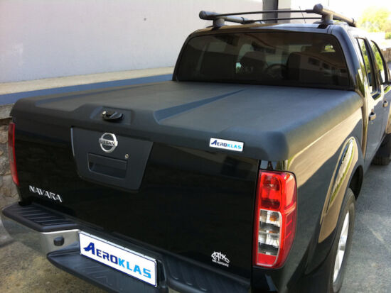 Aeroklas Speed hard cover - black, grain surface - Nissan D/C 2005-2015