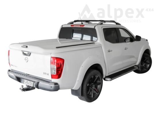 PRO-FORM Sportlid V hard cover - central locking - QM1 white - Nissan D/C 2014-