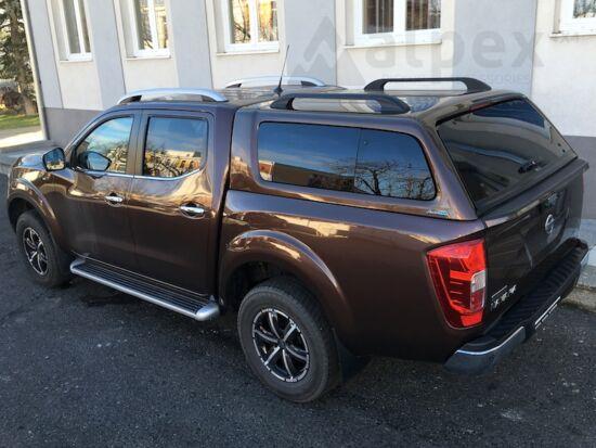 Aeroklas Stylish hardtop - pop-out side window - CAQ earth bronze - Nissan D/C 2015-