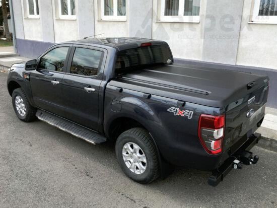 PRO-FORM Sportlid V hard cover - black, grain surface - central locking - Nissan D/C 2014-
