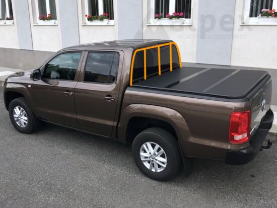 Alpex Hard Tri-Fold Cover - to fit with ladder rack - Ford/Mazda D/C 2006-2012
