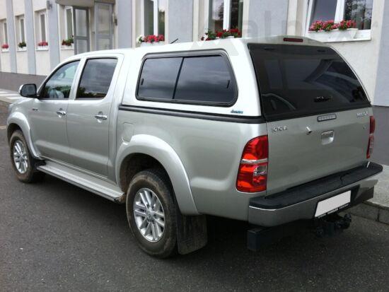 Aeroklas Stylish hardtop - sliding side window - 1C0 silver - Toyota D/C 2005-2015