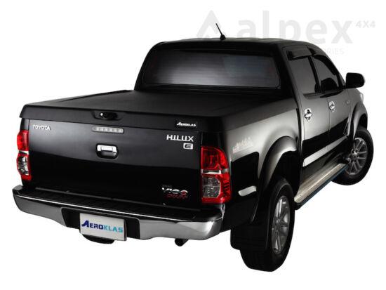 Aeroklas Speed hard cover - black, grain surface - Toyota D/C 2005-2015