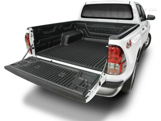 Aeroklas Bed Liner - over rail - to fit with OE cargo hooks - Toyota D/C 2015-