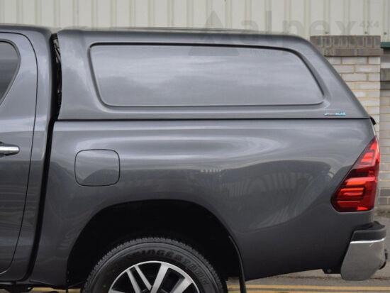 Aeroklas Commercial felépítmény - oldalüveg nélkül - 3T6 vörös - Toyota D/C 15-