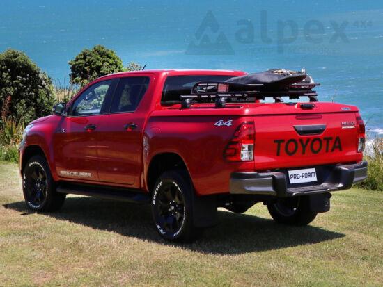 PRO-FORM Sportlid V hard cover - central locking - 8X2 blue - Toyota D/C 2015-