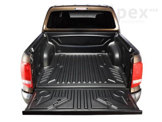 Aeroklas Bed Liner - over rail - 4x metal cargo hooks - Volkswagen D/C 2010-