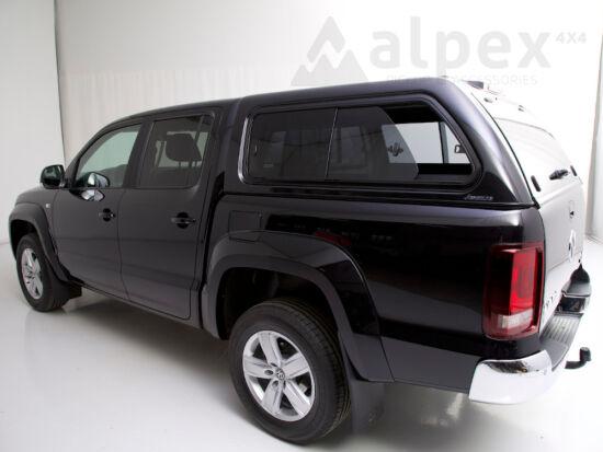 Aeroklas Stylish Hardtop - seitliche Schiebefenster - Zentralverriegelung - 2T2T; LC9X deep black - Volkswagen D/C 2010-