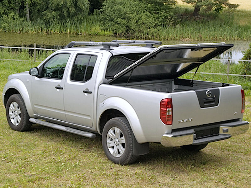 mountain top alu abdeckung nissan d c 10 16 double cab. Black Bedroom Furniture Sets. Home Design Ideas